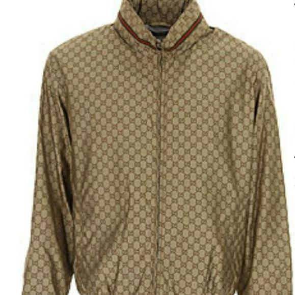 be4a53a81bd Mens Gucci Windbreaker jacket Size 52